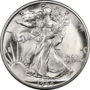 1944 S 50C MS obverse
