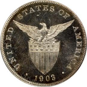 1903 USA-PHIL PESO PF reverse