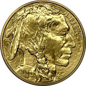 2011 BUFFALO .9999 FINE G$50 MS obverse