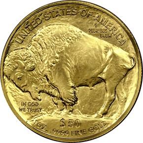 2011 BUFFALO .9999 FINE G$50 MS reverse