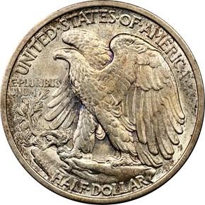 1917 50C MS reverse