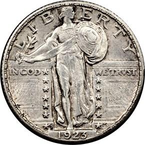 1923 S 25C MS obverse