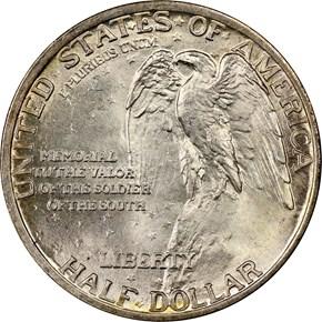 1925 STONE MOUNTAIN 50C MS reverse