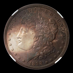 1892 S$1 PF obverse