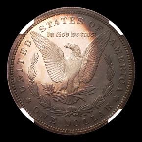 1892 S$1 PF reverse