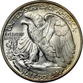 1946 50C MS reverse