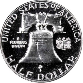 1963 50C PF reverse