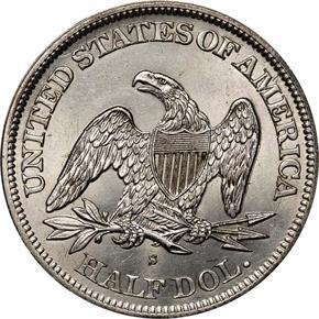1865 S 50C MS reverse