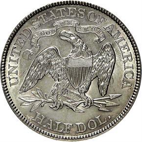 1891 50C MS reverse