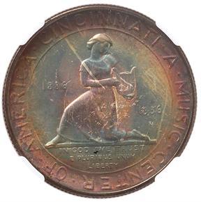 1936 D CINCINNATI 50C MS reverse