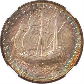 1921 PILGRIM 50C MS reverse