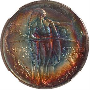 1933 D OREGON 50C MS obverse