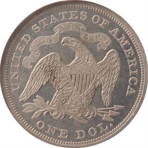 1870 J-1007 S$1 PF reverse