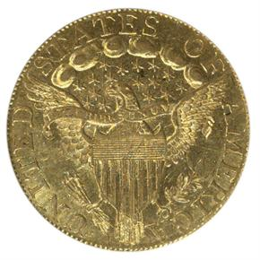 1797/5 LARGE EAGLE $5 MS reverse