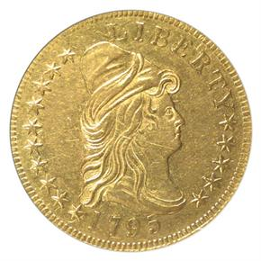1795 13 LEAVES $10 MS obverse