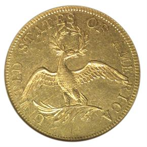 1795 13 LEAVES $10 MS reverse