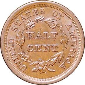 1857 C-1 1/2C MS reverse