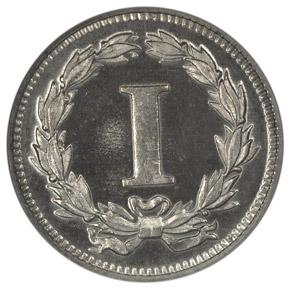 1868 J-608 1C PF reverse