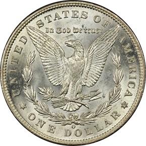 1896 O S$1 MS reverse