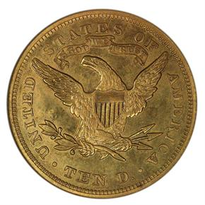 1873 CLOSED 3 $10 PF reverse