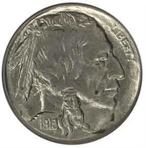 1913 S TYPE 2 5C MS obverse