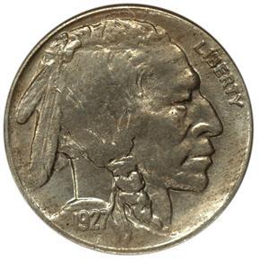 1927 D 5C MS obverse