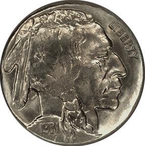 1931 S 5C MS obverse