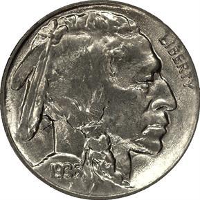 1936 D 5C MS obverse