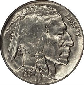 1938 D BUFFALO 5C MS obverse
