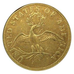 1795 9 LEAVES $10 MS reverse
