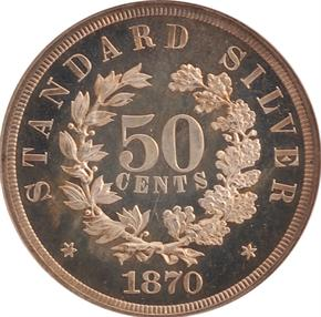 1870 J-982 50C PF reverse