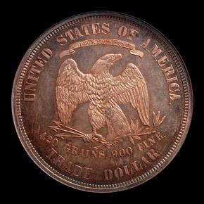 1874 T$1 PF reverse
