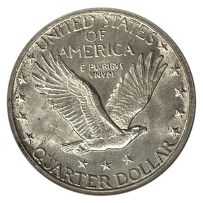 1918/7 S 25C MS reverse