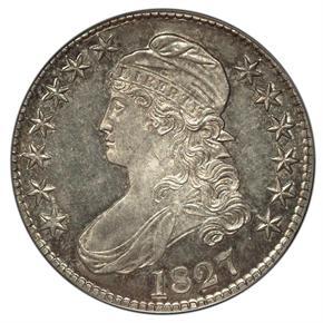 1827 50C PF obverse