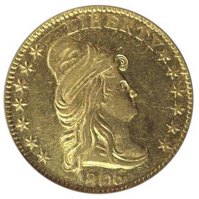 1806/5 $2.5 MS obverse