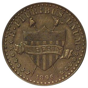 1896 J-1768 1C MS obverse