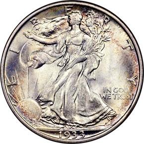 1933 S 50C MS obverse