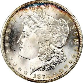1878 CC S$1 MS obverse