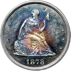 1878 20C PF obverse