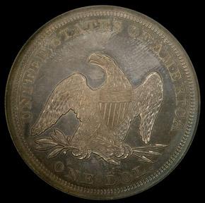 1863 S$1 PF reverse
