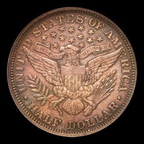 1899 50C MS reverse