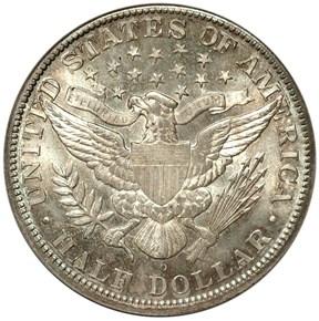 1892 O MICRO O 50C MS reverse