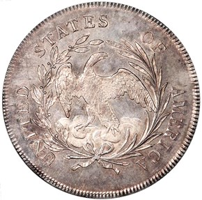 1795 DRAPED BUST S$1 MS reverse