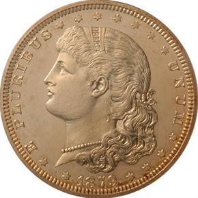 1879 J-1608 S$1 PF obverse
