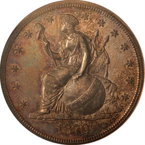 1870 J-1009 S$1 PF obverse