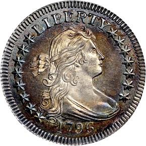 1796 25C MS obverse