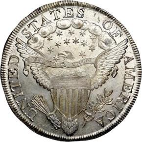 1799/8 S$1 MS reverse