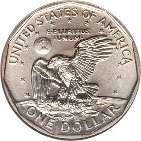 1999 D $1 MS reverse