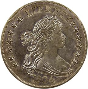 1804 CLASS III S$1 PF obverse