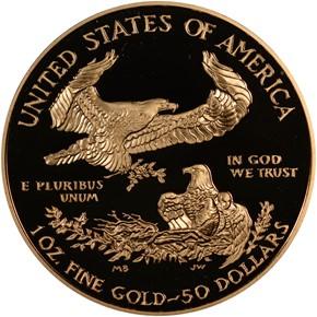 2007 W EAGLE G$50 PF reverse